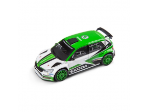 Miniature Skoda Fabia R5 Motorsport Monte Carlo Vert/Blanc