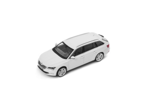 Miniature Skoda Superb Combi Blanc