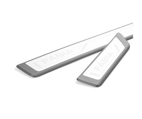Protection seuil de porte Plastique/ Alu Fabia