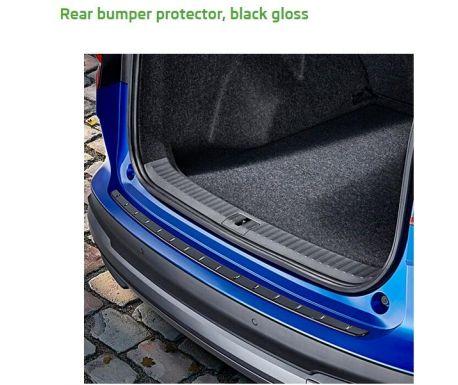 Protection de bord de coffre ENYAQ Noir Gloss
