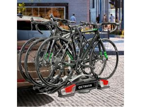 Porte-vélos sur attelage - 3 Vélos
