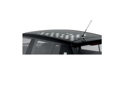 Feuille décorative de toit avec un design à carreaux - clair Fabia 2007-2015