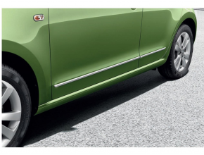 Moulures latérales de portes 3p - chrome Citigo 2012-