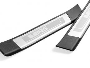 Protection de seuil de porte arrières RS, look alu