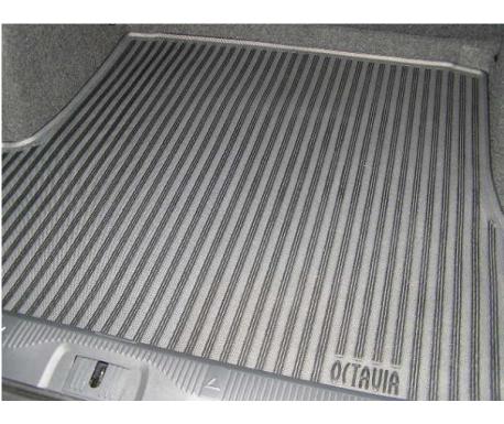 Tapis de coffre, caoutchouc/textile Octavia 2004-2013