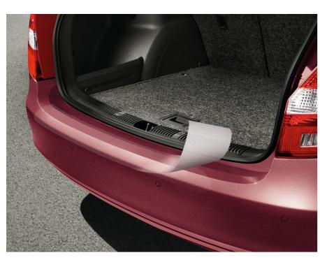 Protection de bord de coffre - film transparent Superb Combi 2008-2015