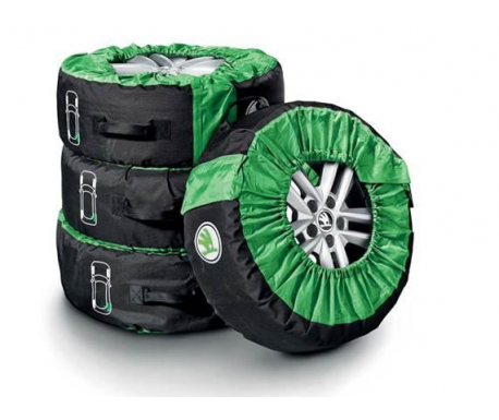 Set sac pour roues avec logo SKODA