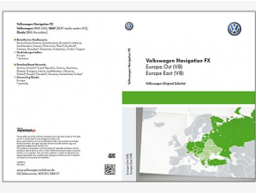 Carte SD RNS310 - Europe de l'Est (version 2016)